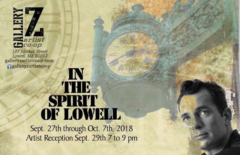 In The Spirt of Lowel Show 9-27 to 10-7