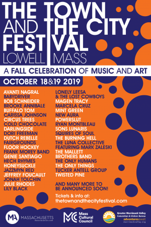 THE TOWN AND THE CITY FESTIVAL (10/18 & 10/19) 6:30-10:00pm