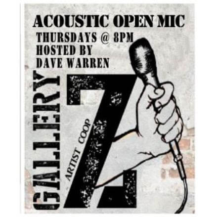 ACOUSTIC OPEN MIC -HOSTED BY: DAVE WARREN- (EVERY THURSDAY 8:00-10:00pm)